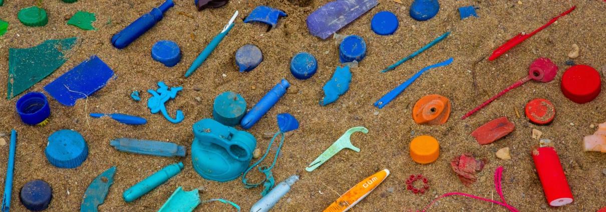 plástico de un solo uso