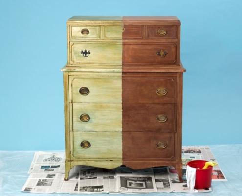 Restaura muebles con un buen decapante